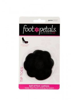 FootPetals ball of foot cushions black