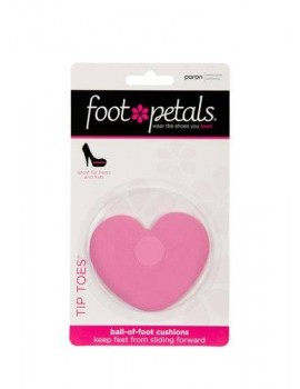 Ball of foot cushions pink heart
