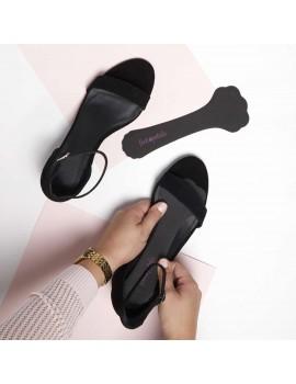 Schuhpolster in Schwarz