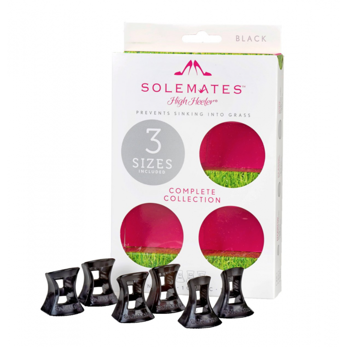 Solemates Triple Pack black