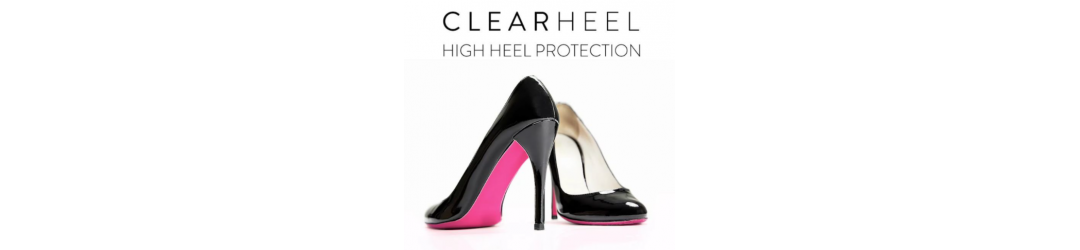CITYHEELS™ is a clear dual-layer protective film that saves high heels from scratches and dents